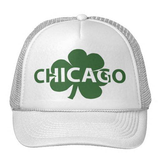 Casquillo irlandés del trébol de Chicago Gorros