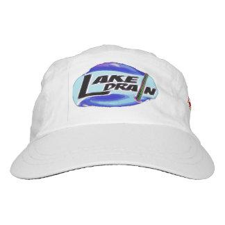 Casquillo ligero negro tejido personalizado de gorra de alto rendimiento