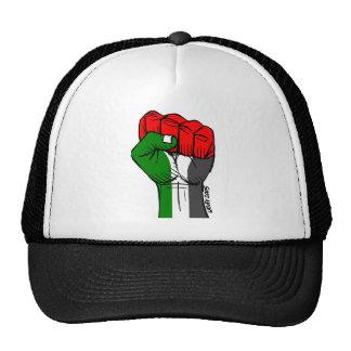 Casquillo palestino del puño de Carlos Latuff Gorros Bordados