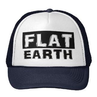 Casquillo plano del camionero de la tierra gorras