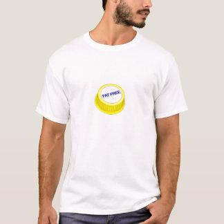 Casquillo sin grasa de la leche camiseta