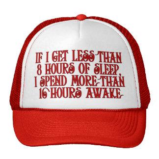 Casquillo soñoliento gorras de camionero
