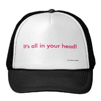 Casquillo - todo en su cabeza gorros bordados