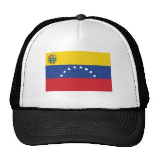 Casquillo venezolano de la bandera gorras