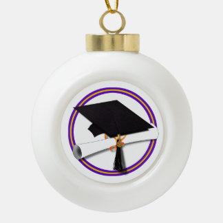 Casquillo w/Diploma del graduado - la escuela Adorno