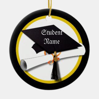Casquillo y diploma 1 de la graduación adorno