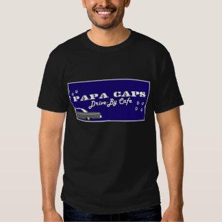 Casquillos de la papá camisas
