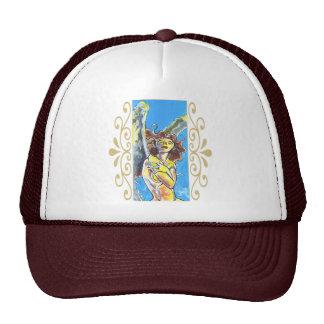 Casquillos del ángel de guarda gorra