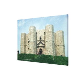 Castel del Monte Impresión En Lienzo Estirada