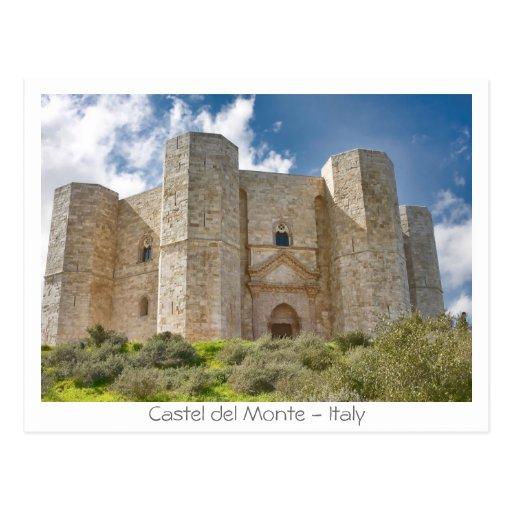 Castel del Monte Postales