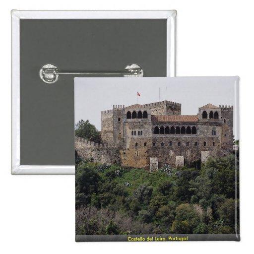 Castello del Leira, Portugal Pin