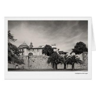 Castiglione del Lago Tarjeta De Felicitación