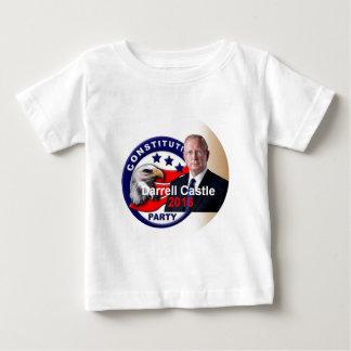 CASTILLO 2016 de Darrell Camiseta De Bebé