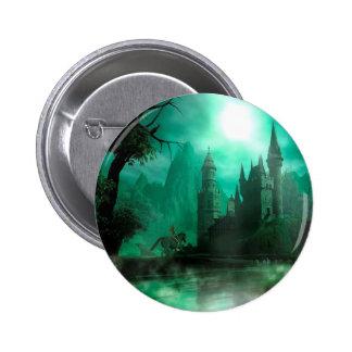 Castillo abstracto del claro de luna del jade de l pin