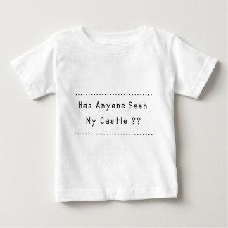 Castillo Camiseta De Bebé