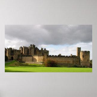 Castillo de Alnwick Póster