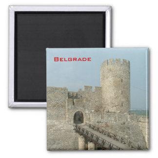 Castillo de Belgrado Imán Para Frigorífico