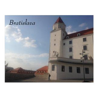 Castillo de Bratislava Postal