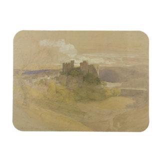 Castillo de Conway (grafito, w/c y aguazo en el pa Imán Foto Rectangular