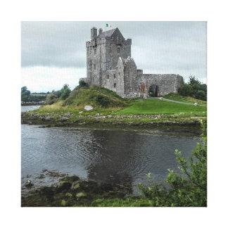 Castillo de Dunguaire, Kinvara, Irlanda Lienzo