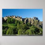 Castillo de Edimburgo, Escocia Posters