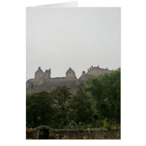 Castillo de Edimburgo Tarjetón