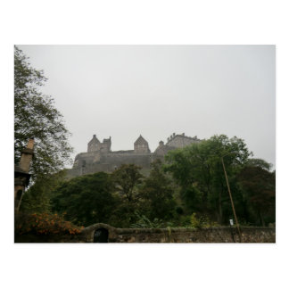 Castillo de Edimburgo Postal