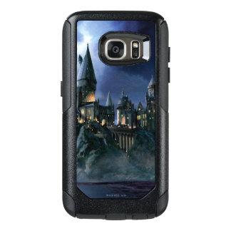 Castillo de Harry Potter el | Hogwarts en la noche Funda Otterbox Para Samsung Galaxy S7