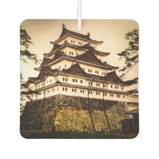 Castillo de Nagoya en 名古屋城 antiguo del vintage de Ambientador