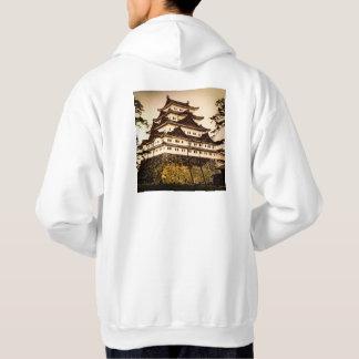 Castillo de Nagoya en 名古屋城 antiguo del vintage de Sudadera