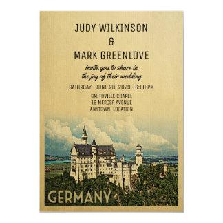 Castillo de Neuschwanstein de la invitación del
