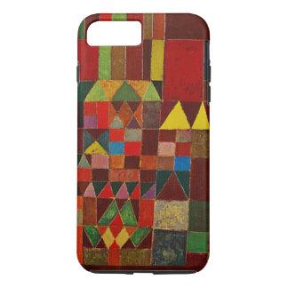 Castillo de Paul Klee y arte abstracto de la Funda iPhone 7 Plus