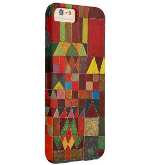 Castillo de Paul Klee y arte abstracto de la Funda Resistente iPhone 6 Plus