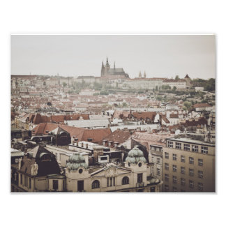 Castillo de Praga en la ciudad de la República Cojinete