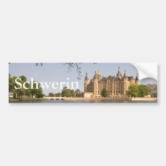 Castillo de Schwerin Pegatina Para Coche