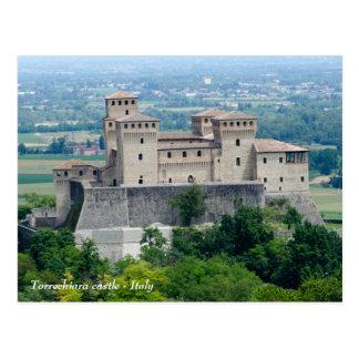 Castillo de Torrechiara - Italia - postal