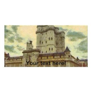 Castillo de Vincennes, pintura de París Tarjeta