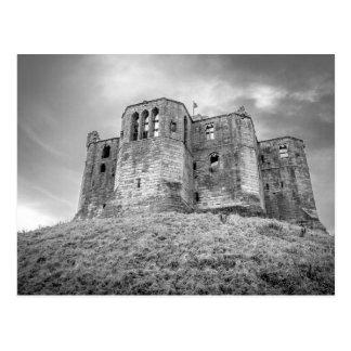 Castillo de Warkworth, Northumberland, postal