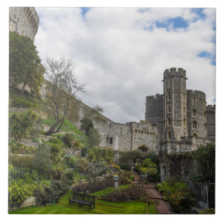 Castillo de Windsor en Inglaterra Azulejo De Cerámica