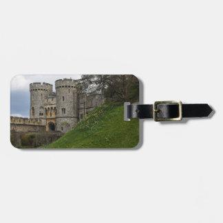 Castillo de Windsor en Windsor Inglaterra Etiqueta Para Maletas