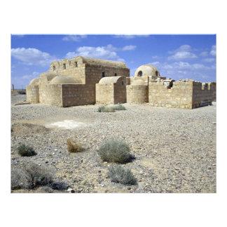 Castillo del desierto, EL Amra, desierto de Quasr  Tarjetones