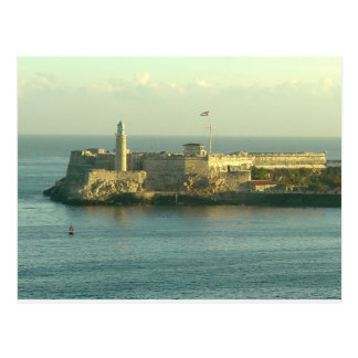 Castillo del Morro La Habana Cuba Postal