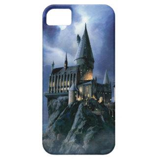 Castillo el | Hogwarts iluminado por la luna de Funda Para iPhone SE/5/5s