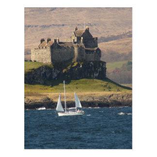 Castillo Escocia de Duart Postal