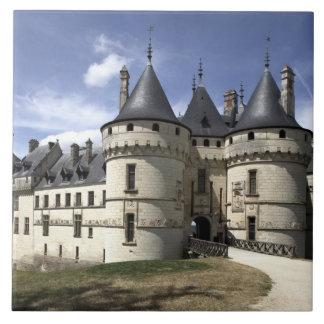 Castillo francés de Chaumont-Sur-Loire. Azulejo Cuadrado Grande