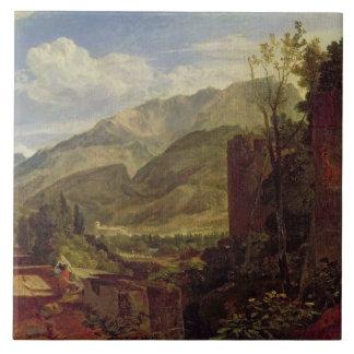 Castillo francés de San Miguel, Bonneville, col ri Azulejo