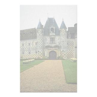Castillo francés St Germain, De-Levit, Francia Papeleria Personalizada