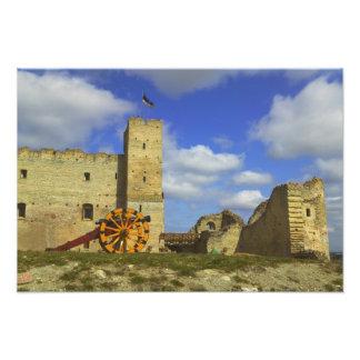 Castillo interior de Rakvere, Rakvere, Estonia Fotografia