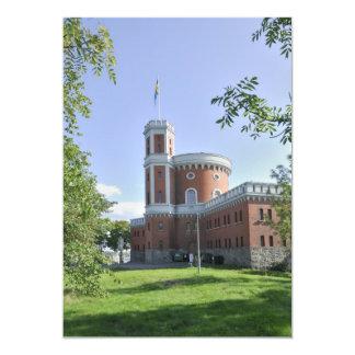 Castillo Invitación 12,7 X 17,8 Cm