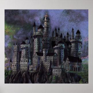 Castillo magnífico de Hogwarts Posters